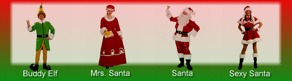 Christmas Costume Samples