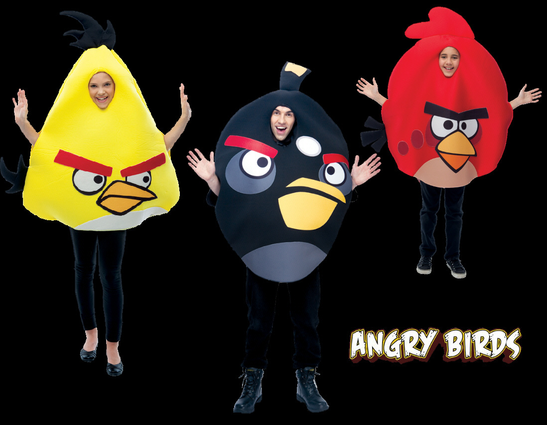 Angry Birds Costumes Samples