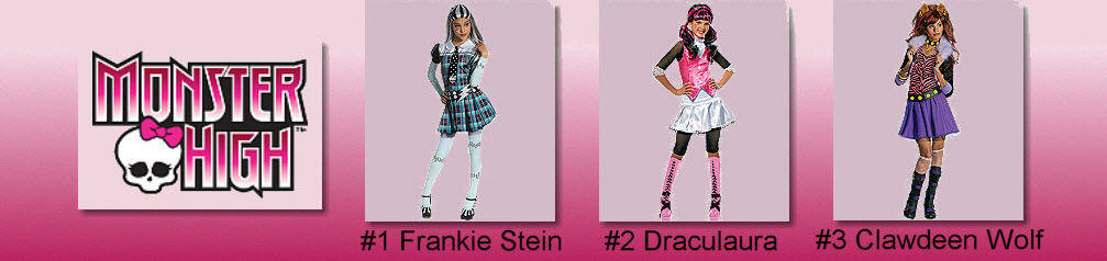 Monster High Costume Samples